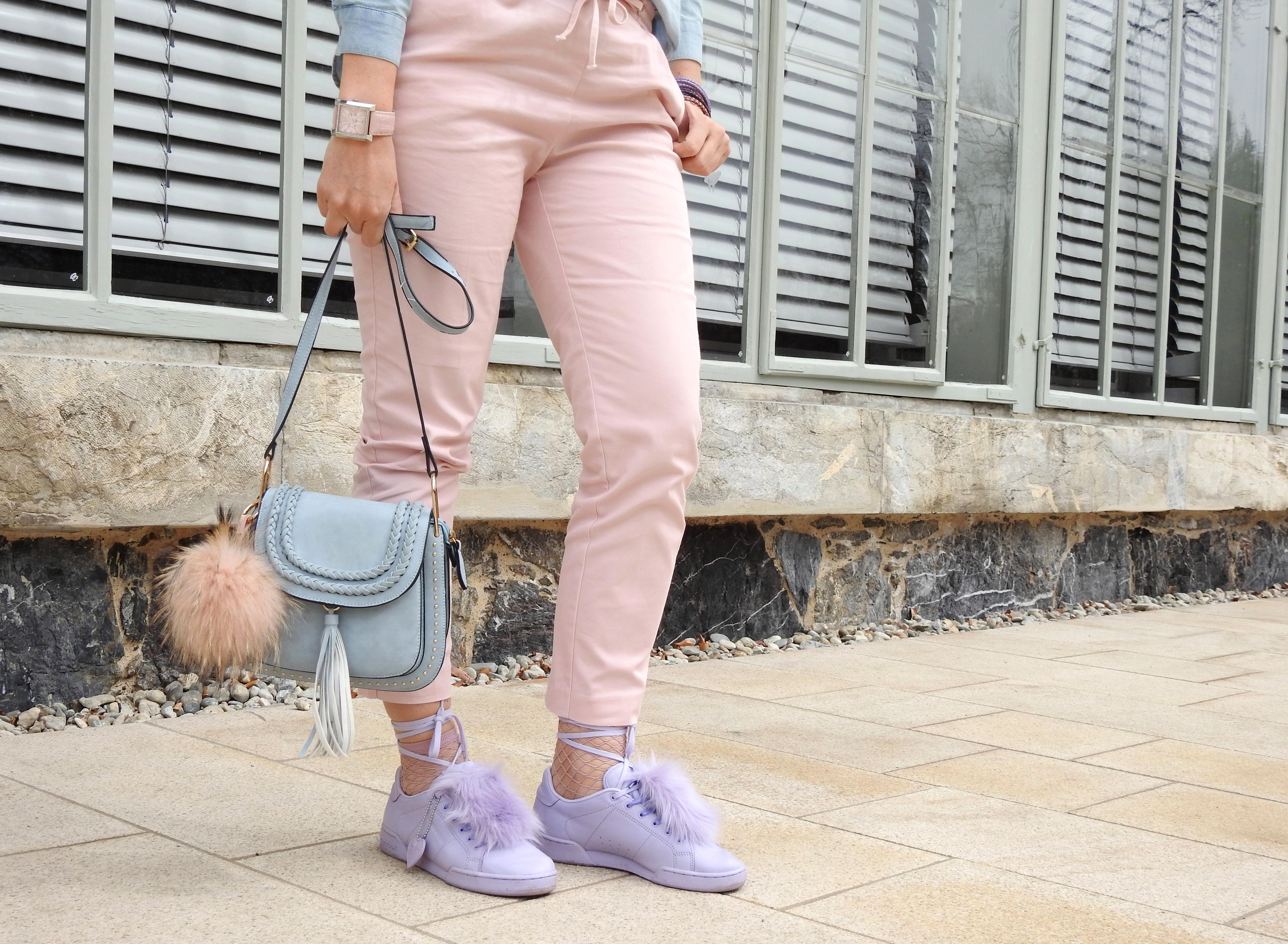 Pastellfarben-Colours-Springvibes-Frühlingsfarben-Frühling-Lila-Fishnet-STockings-Chloe-Bag-pink-Pants-carrieslifestyle-Tamara-Prutsch